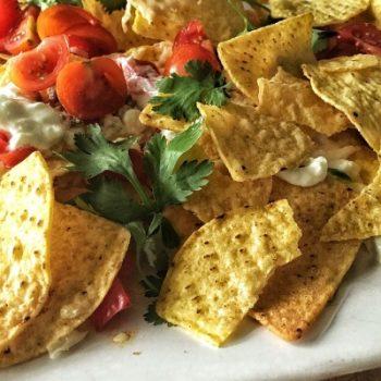 veggie nachos recipe