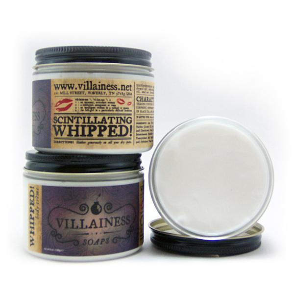 Villainess whipped body creme