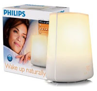 Wake-up light for winter depression