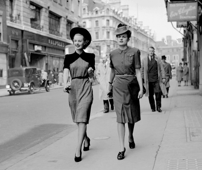 1940s Fashion And The Lady