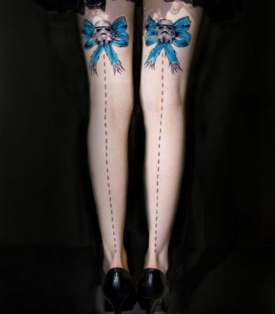 Best star wars tattoos for Matching star wars tattoos
