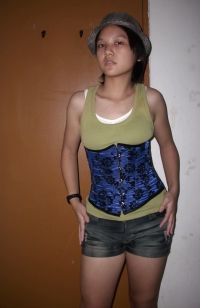Corset training before