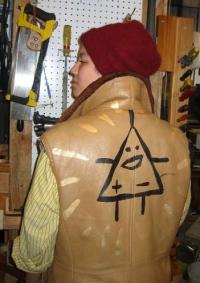 Customised leather jacket