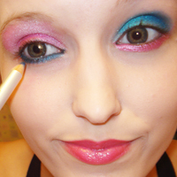electroclash makeup tips for eyes