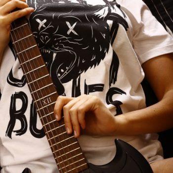 female rock musician