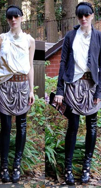 Goth clothing tall women