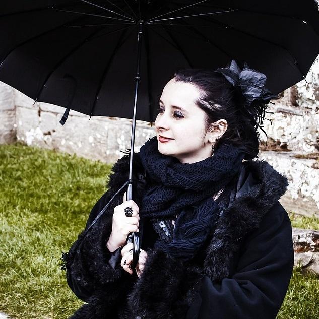 goth umbrellas