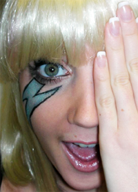 Electro makeup tips - get the Lady Gaga look
