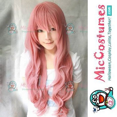 Vocaloid Pink Wig 55