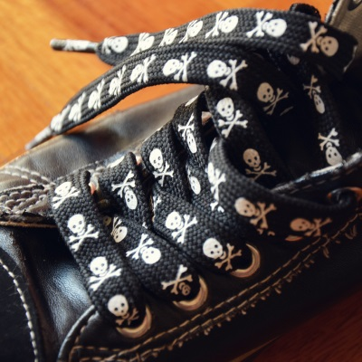 punk shoelaces