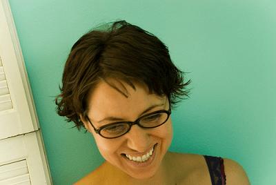 short hair on women
