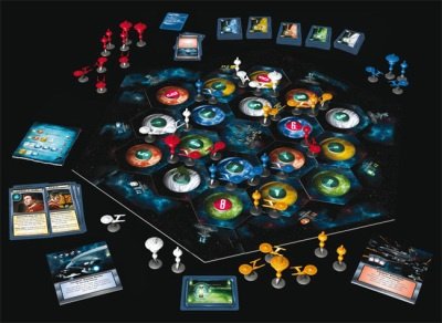 Star Trek Settlers of Catan board game