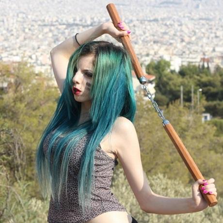 turqoise hair