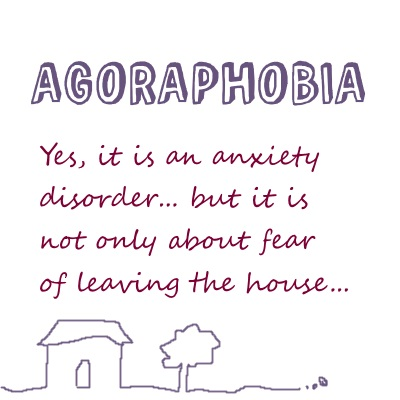 agoraphobia illustration