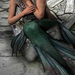 mermaid burlesque costume