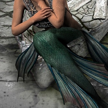 mermaid burlesque costume