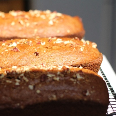 Vegan cranberry and walnut bread recipe