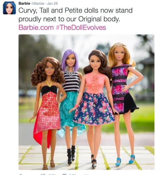 barbie tweet