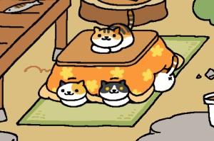 neko atsume kotatsu