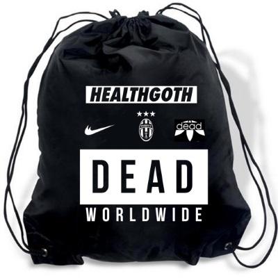 health goth gym bag