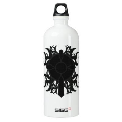 health goth water bottle