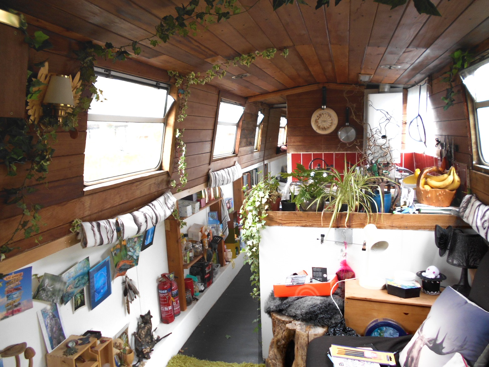 Living on a houseboat my decorating tips for small spaces