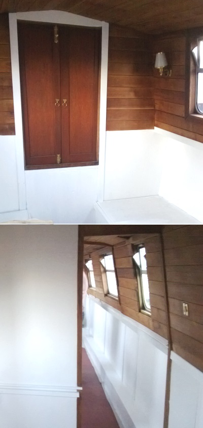 houseboat decorating tips for small spaces - white walls