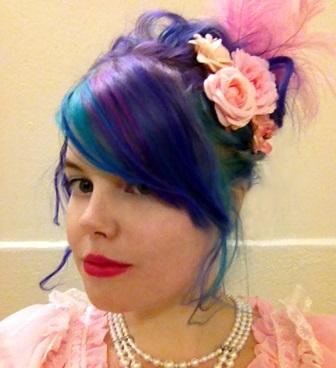 rainbow hair dye