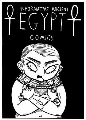 Kendra Josie Kirkpatrick comics Informative Anclient Egypt
