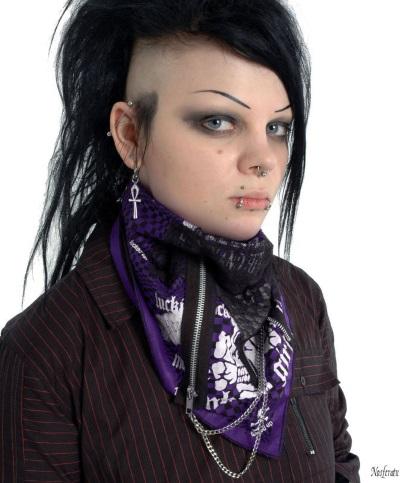 Nosferatu gothic clothing Dead Threads kerchief
