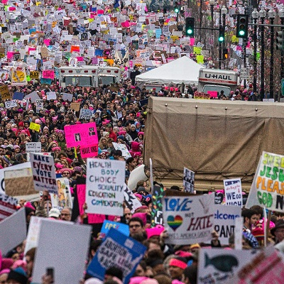 trumps america womens march idaho