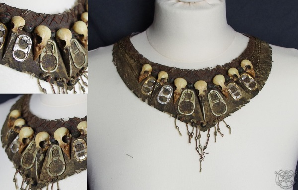 Rad Roach Gear Necklace