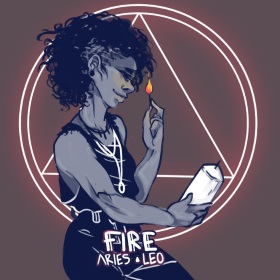 zodiac witch type aries leo
