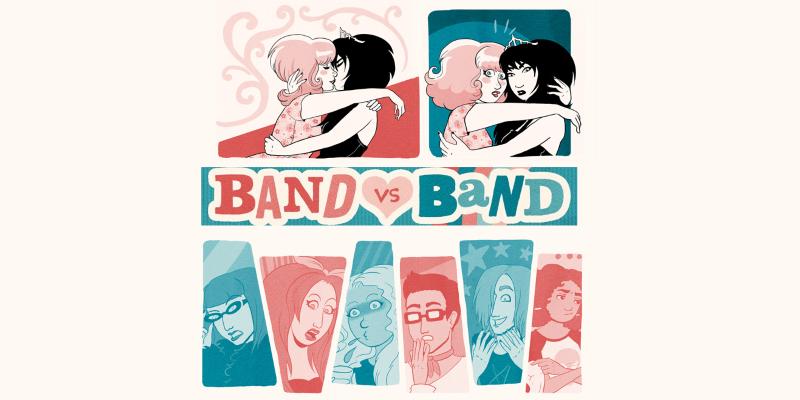 band vs band webcomix