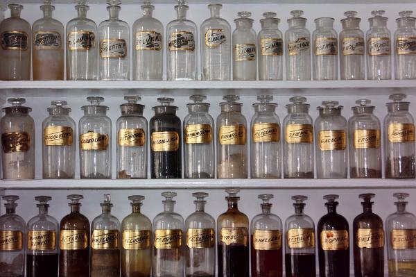 alchemy bottles