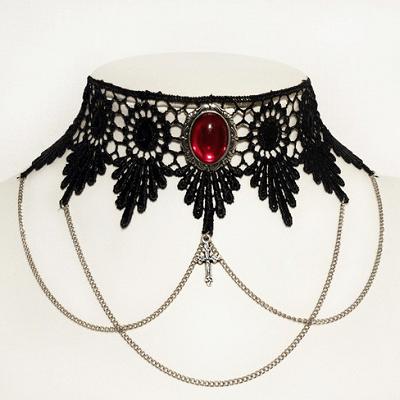 Win Victorian Gothic Fashion Choker Set From Dark Elegance