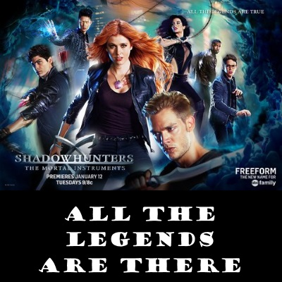 shadowhunters tv show diversity poster